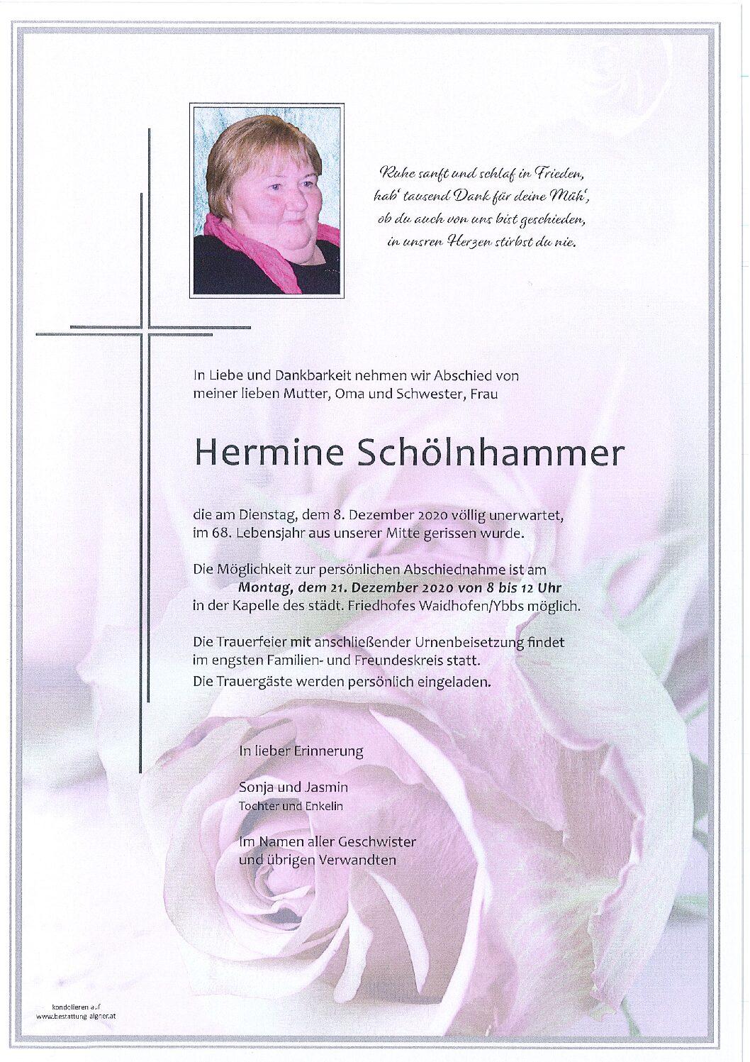 Hermine Schölnhammer