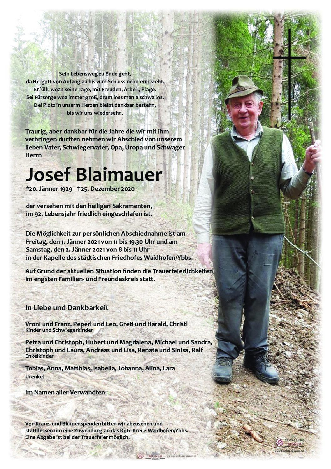 Josef Blaimauer