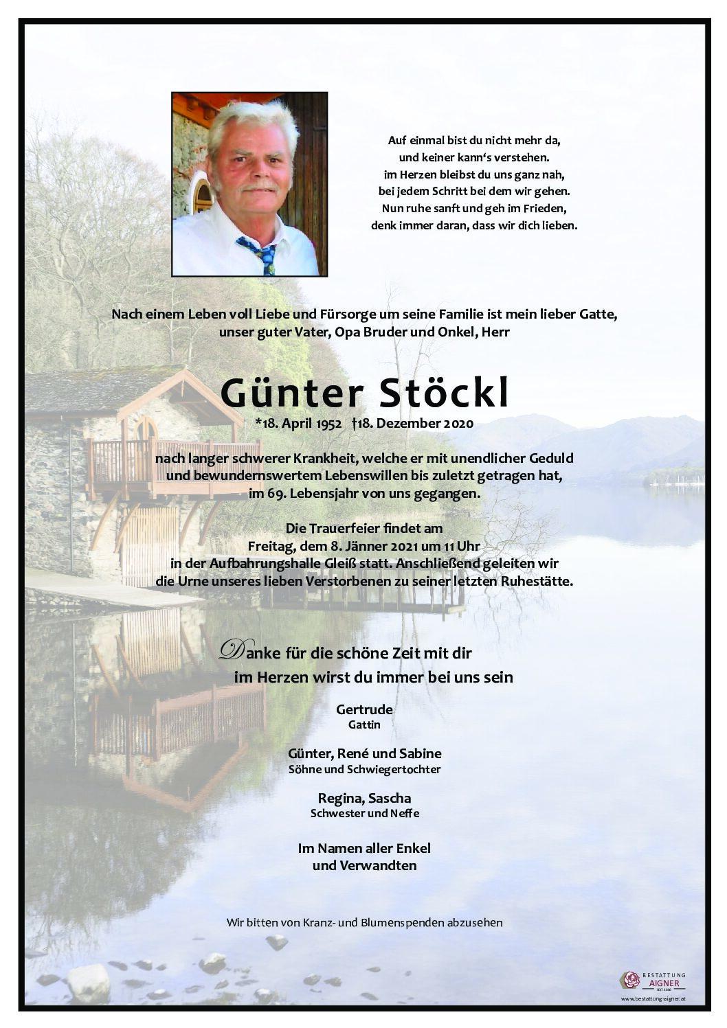 Günter Stöckl