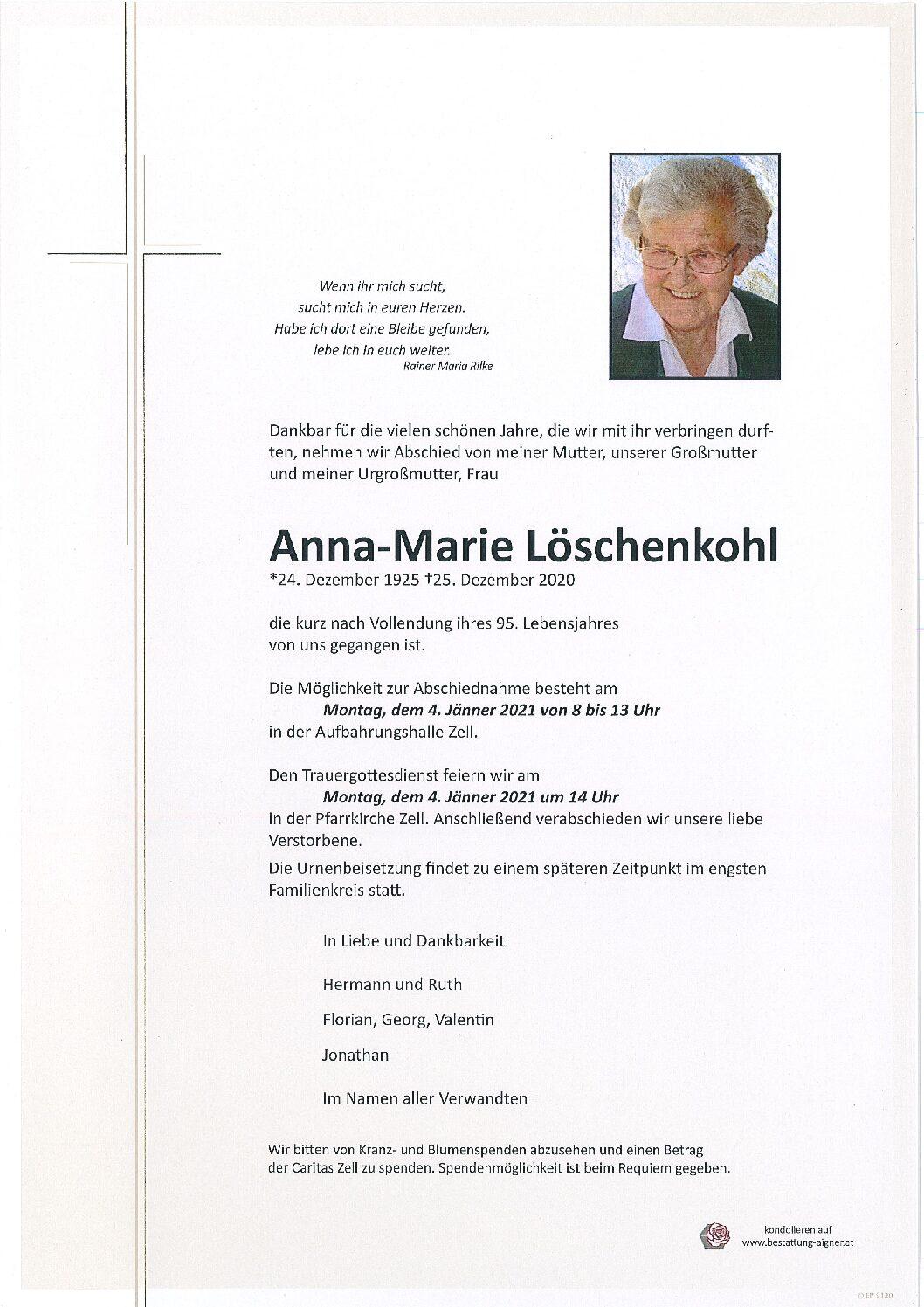 Anna-Marie Löschenkohl
