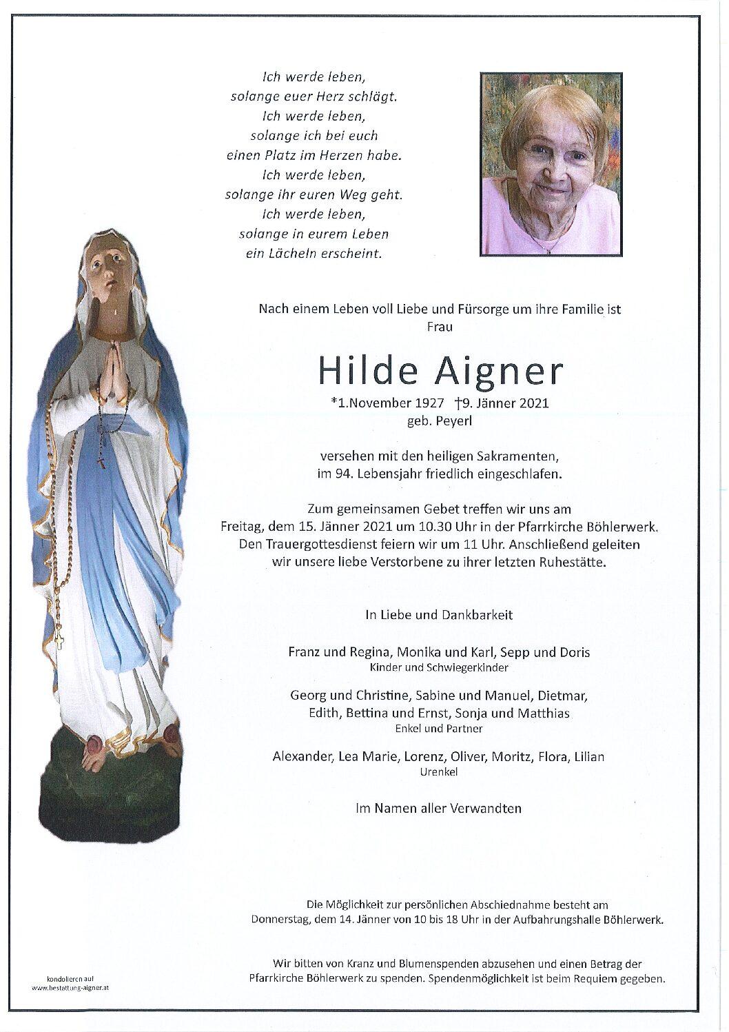 Hilde Aigner