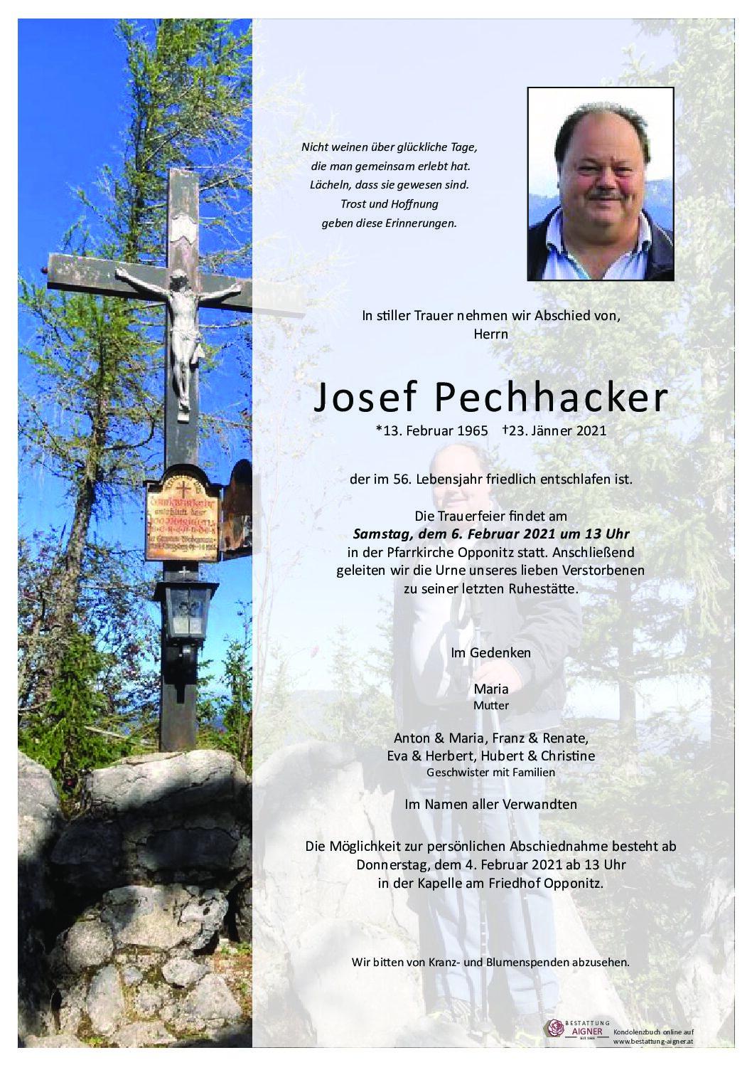 Josef Pechhacker