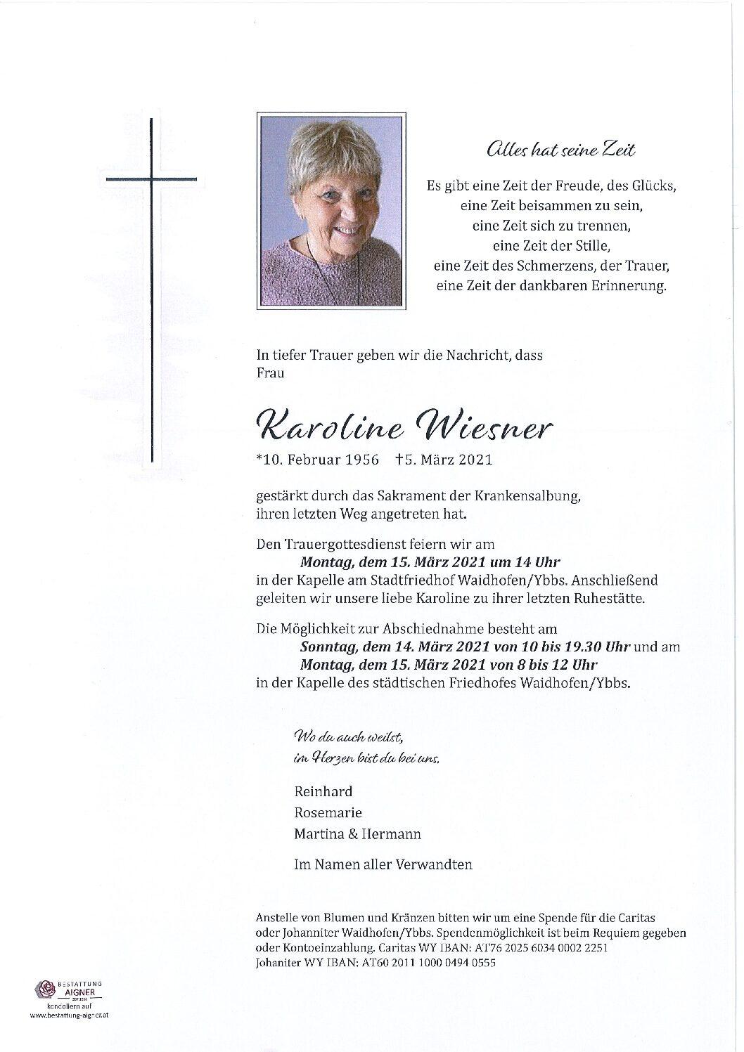Karoline Wiesner