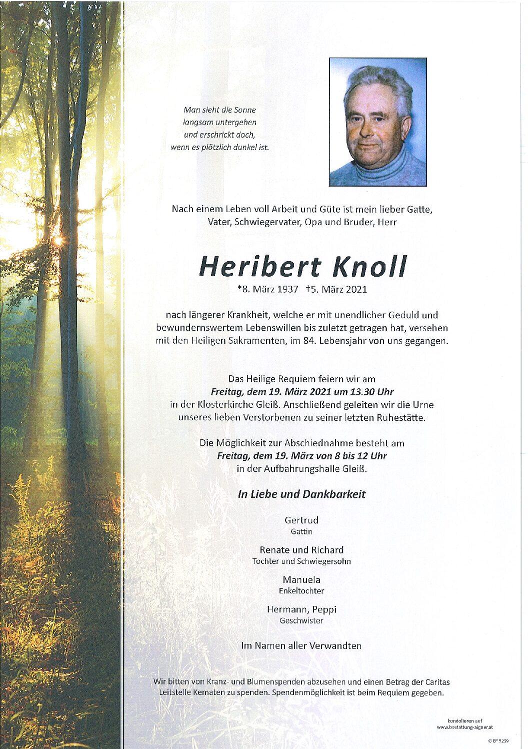 Heribert Knoll
