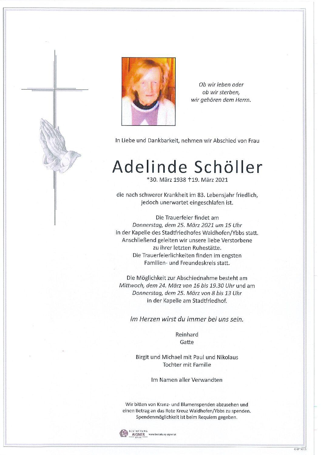 Adelinde Schöller