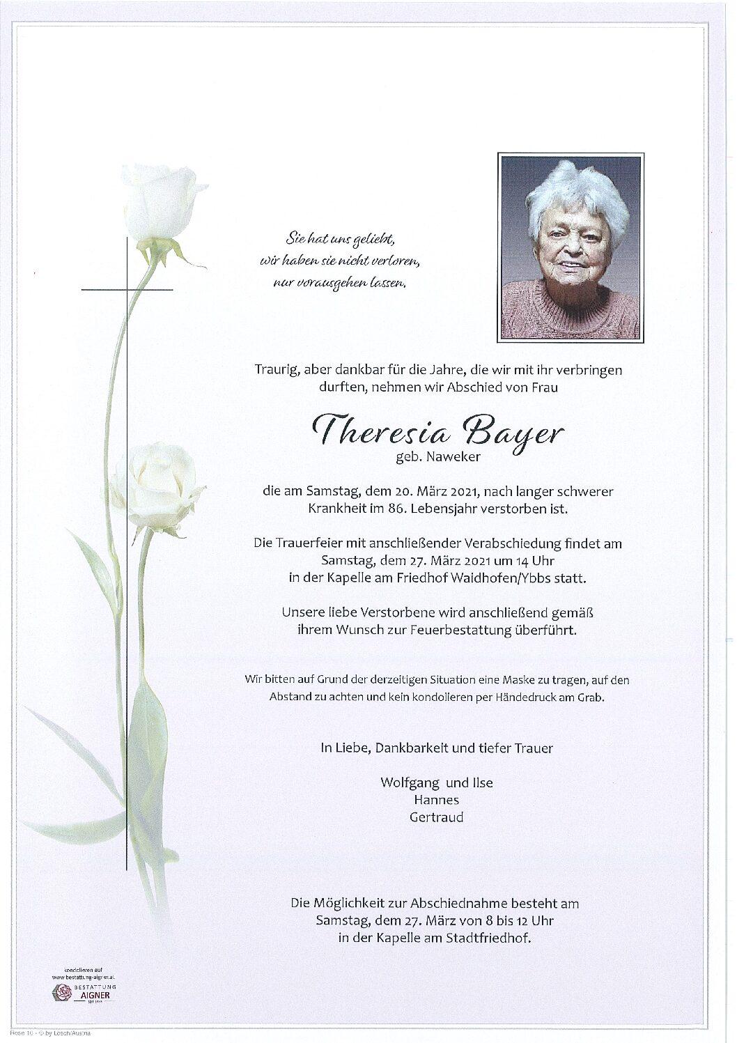 Theresia Bayer
