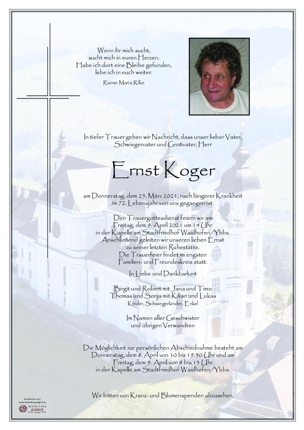 Ernst Koger