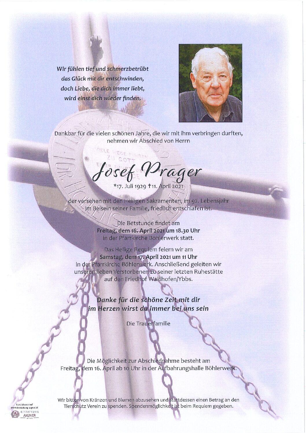Josef Prager
