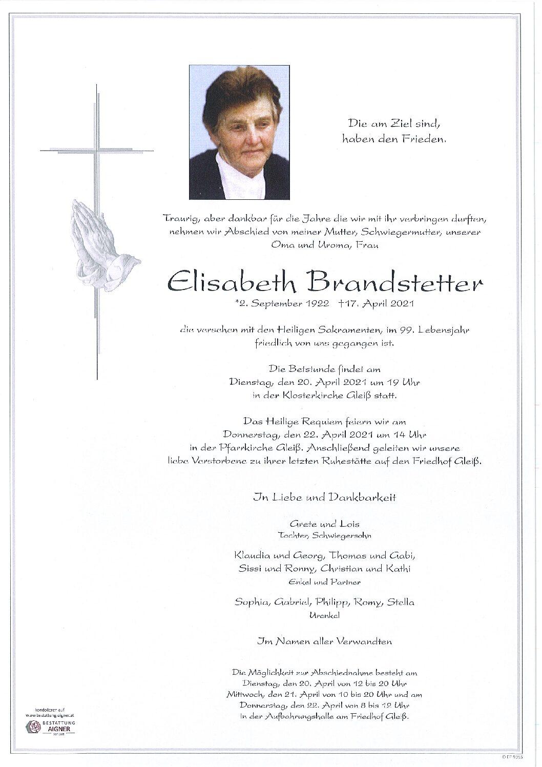 Elisabeth Brandstetter
