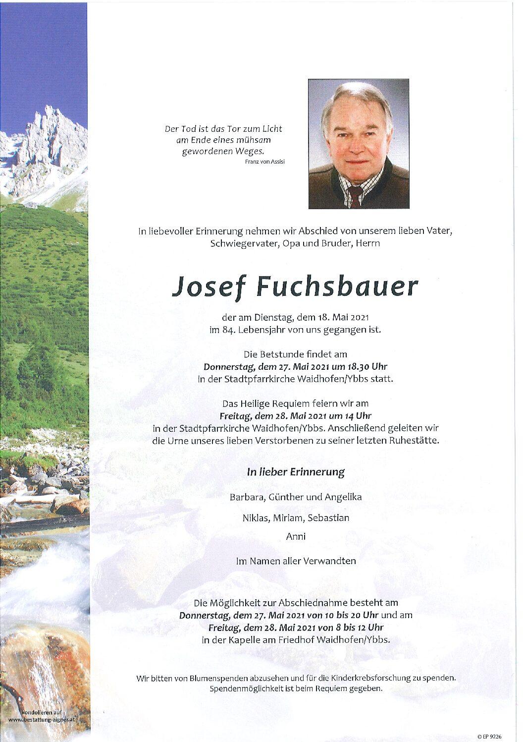 Josef Fuchsbauer
