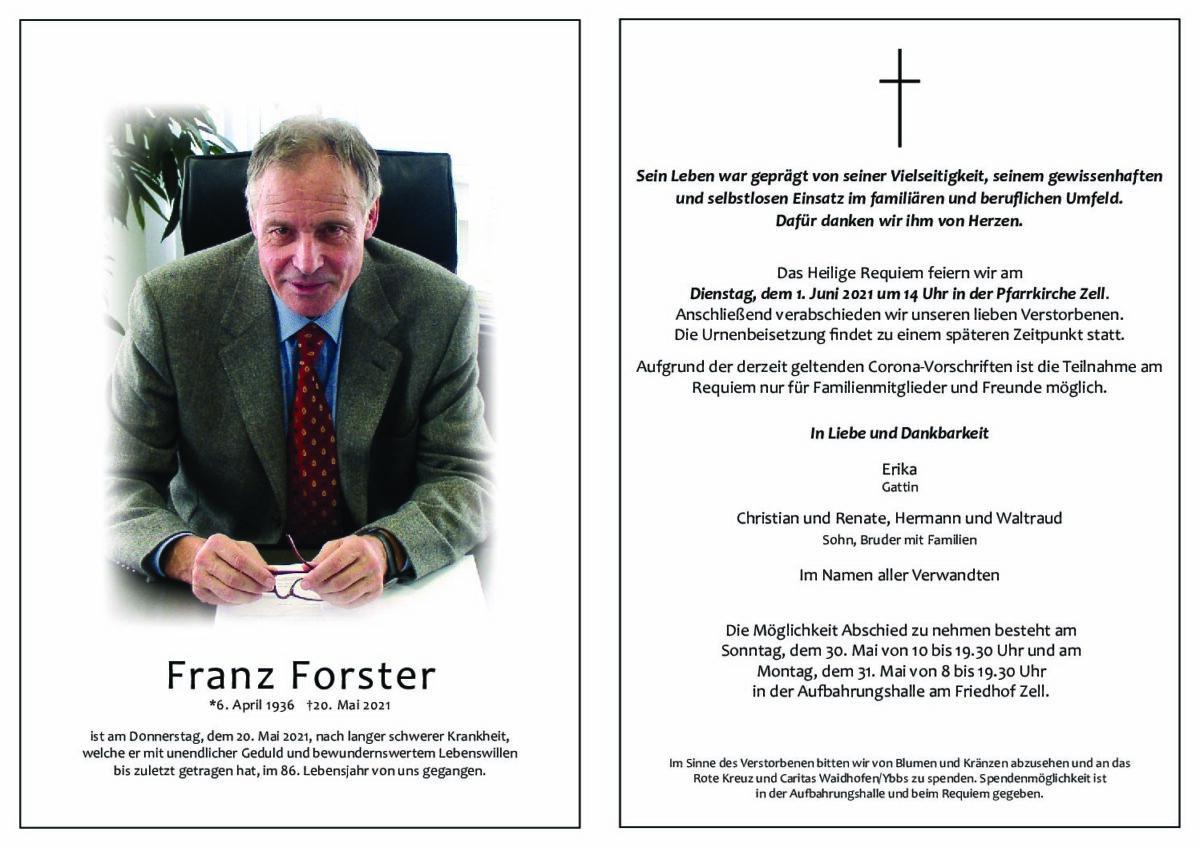 Franz Forster