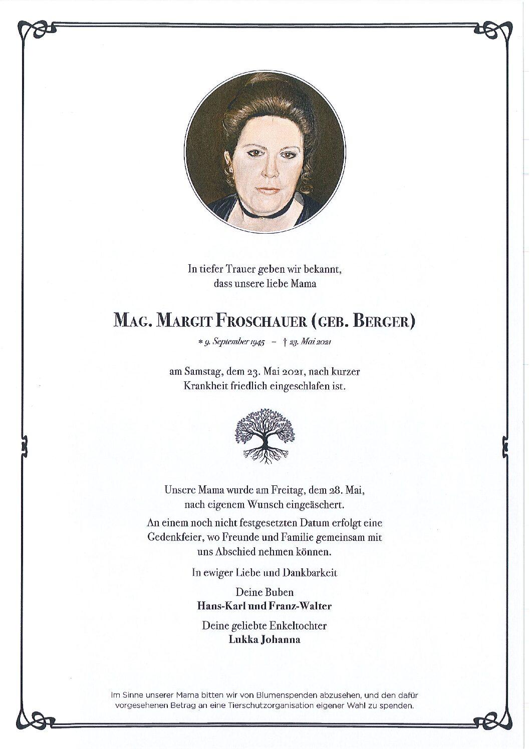 Margit Froschauer