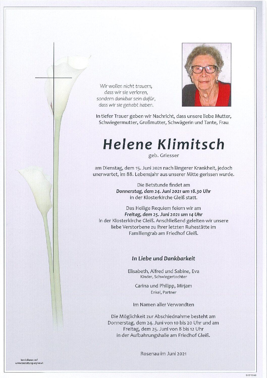 Helene Klimitsch