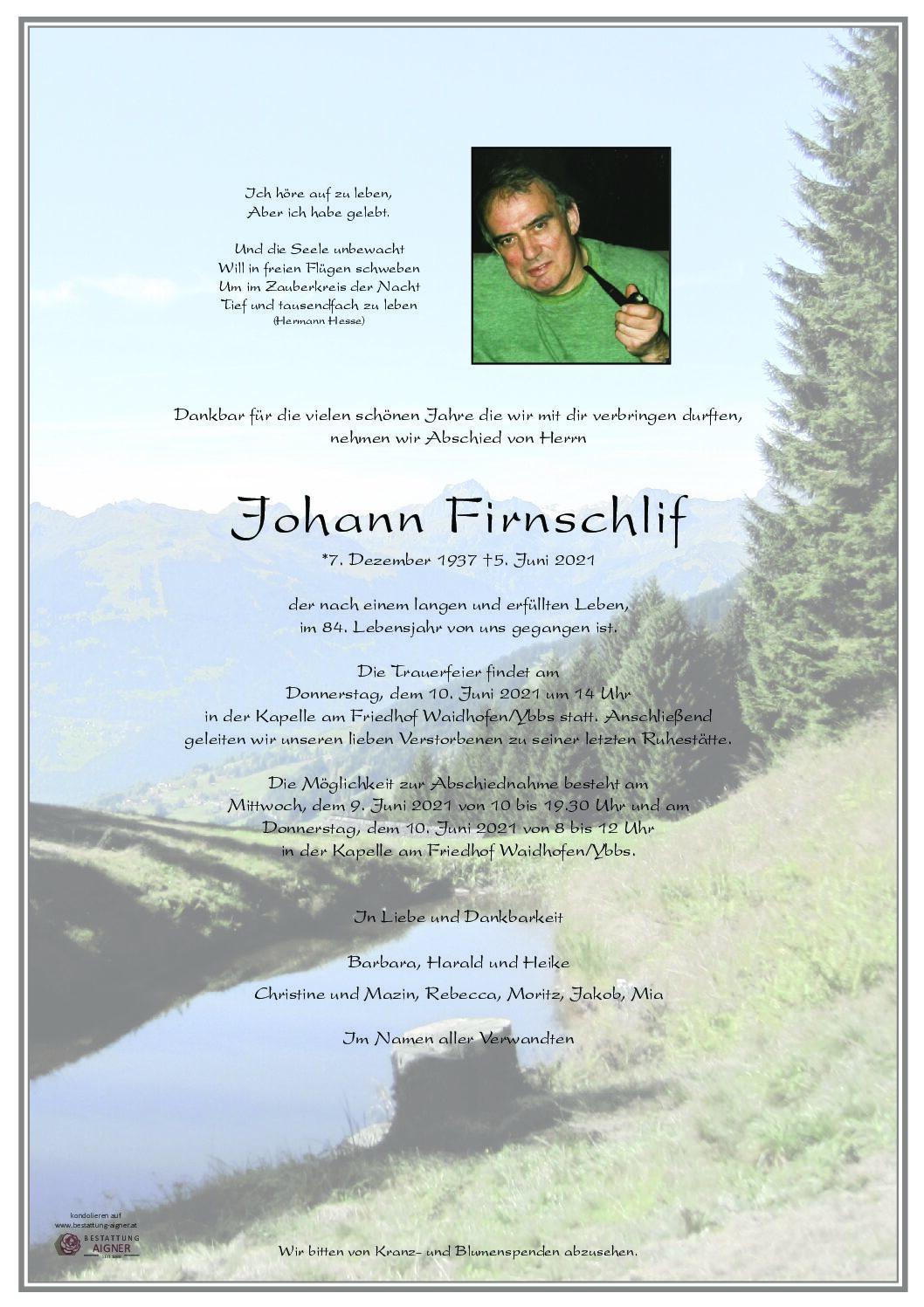 Johann Firnschlif