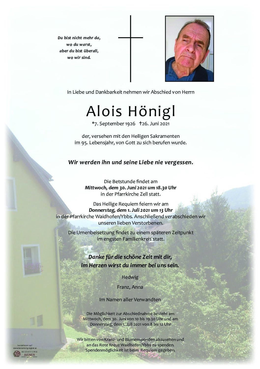 Alois Hönigl