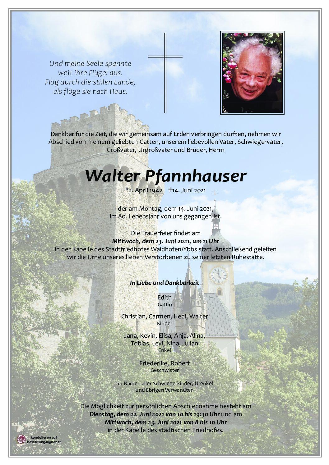 Walter Pfannhauser