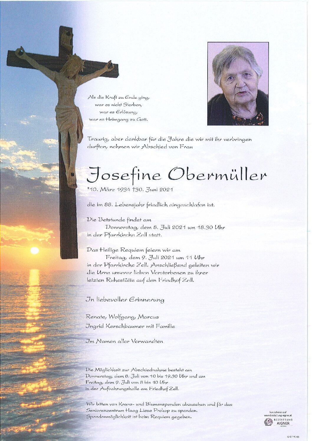Josefine Obermüller