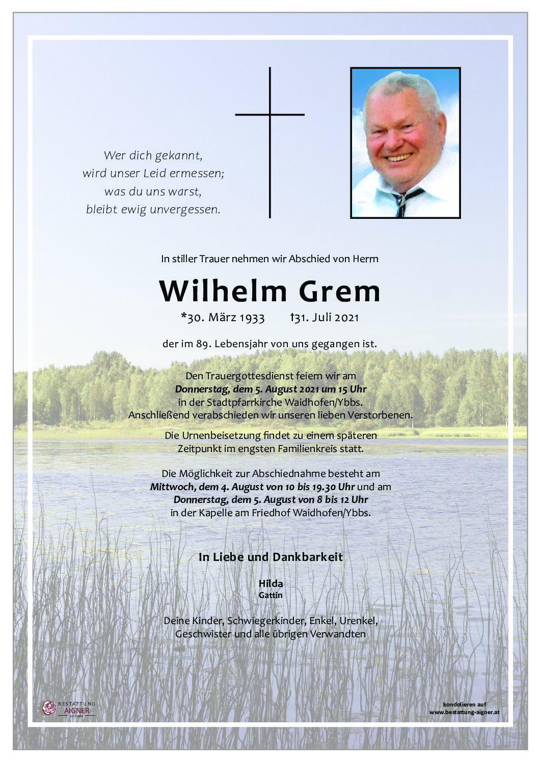 Wilhelm Grem
