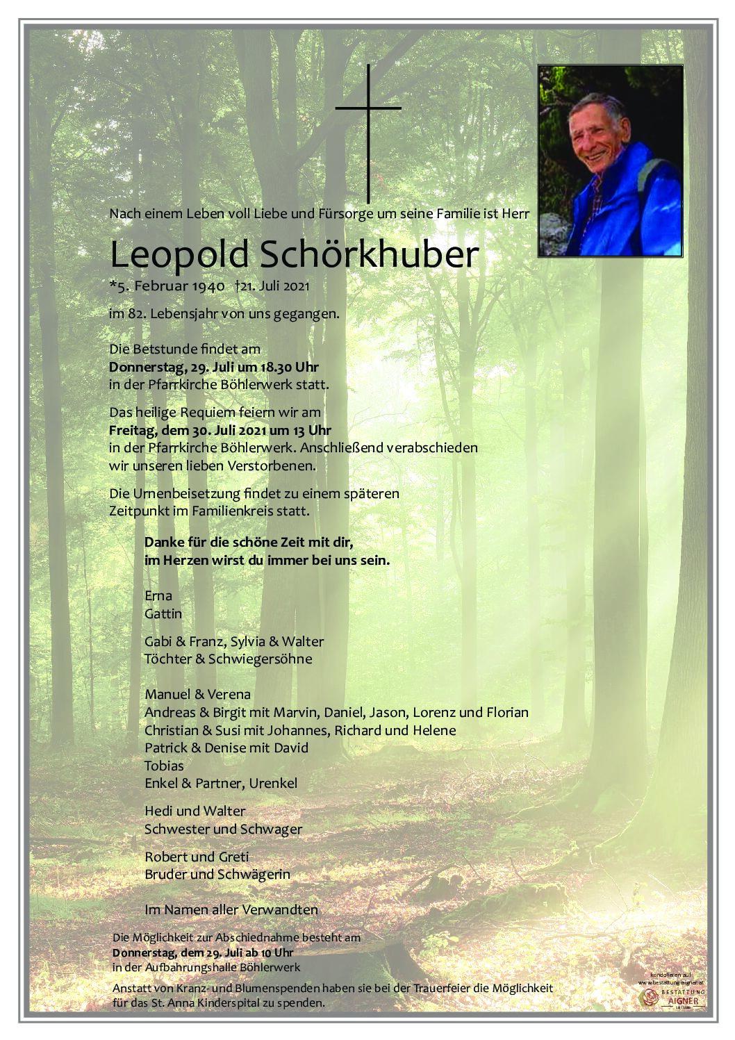 Leopold Schörkhuber