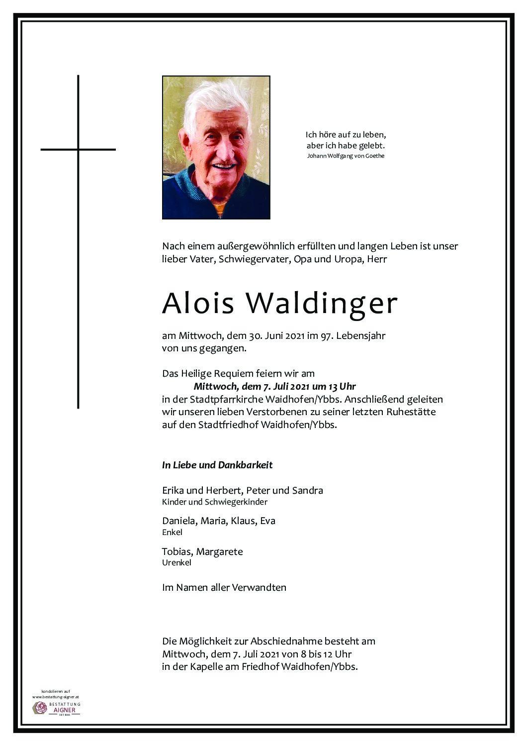 Alois Waldinger