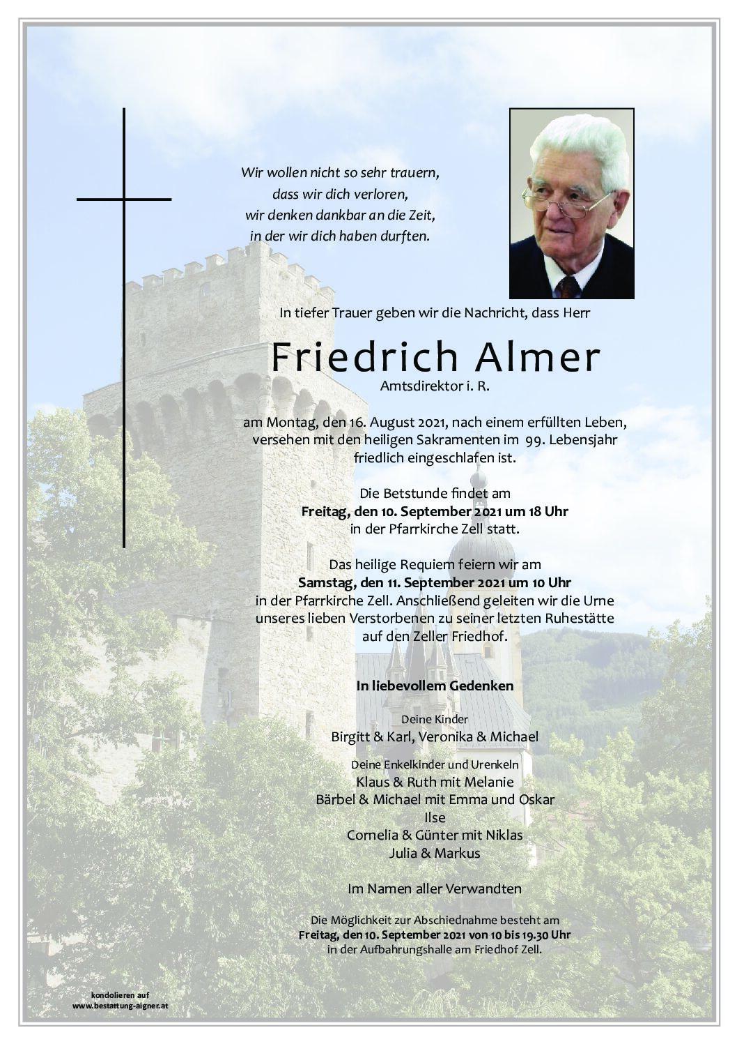 Friedrich Almer