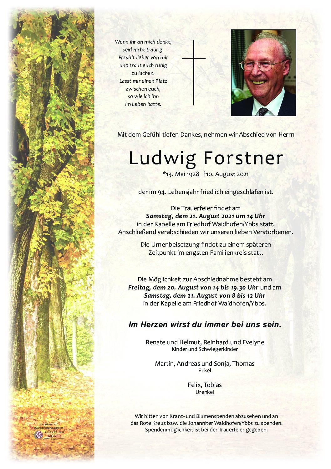 Ludwig Forstner