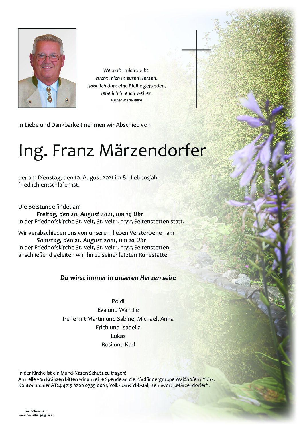 Franz Märzendorfer