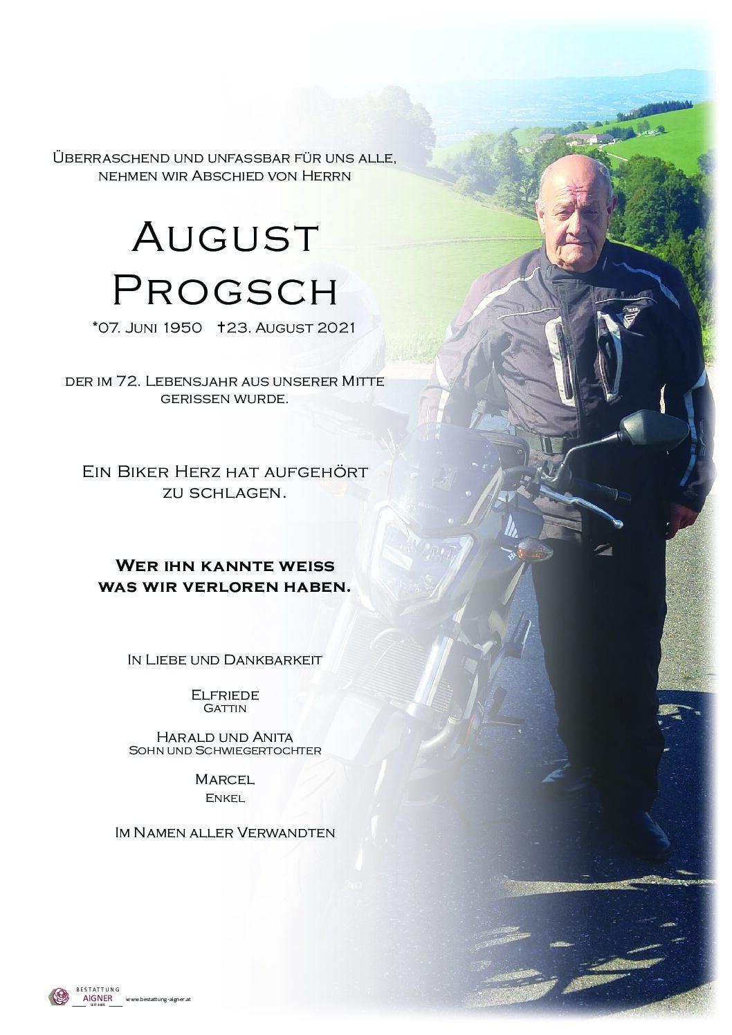 August  Progsch