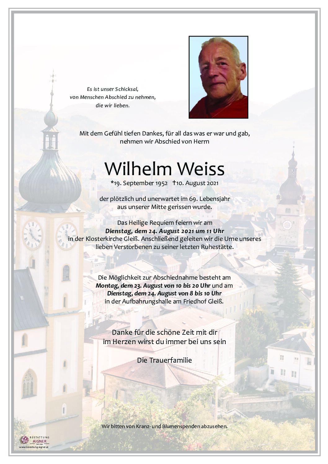 Wilhelm Weiss