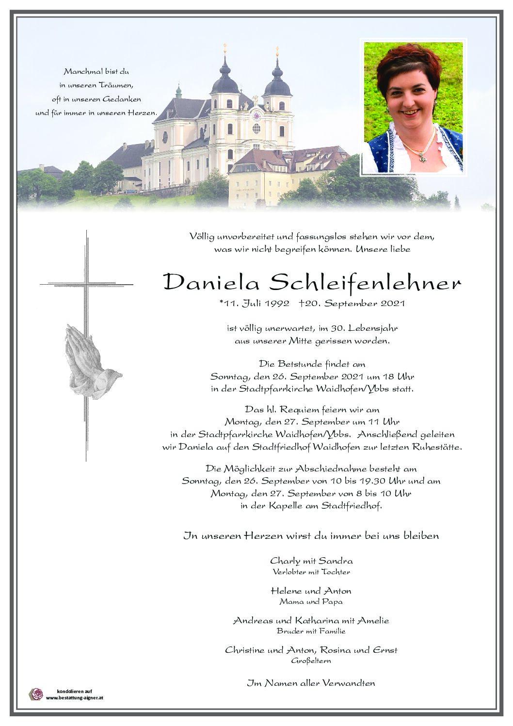 Daniela Schleifenlehner