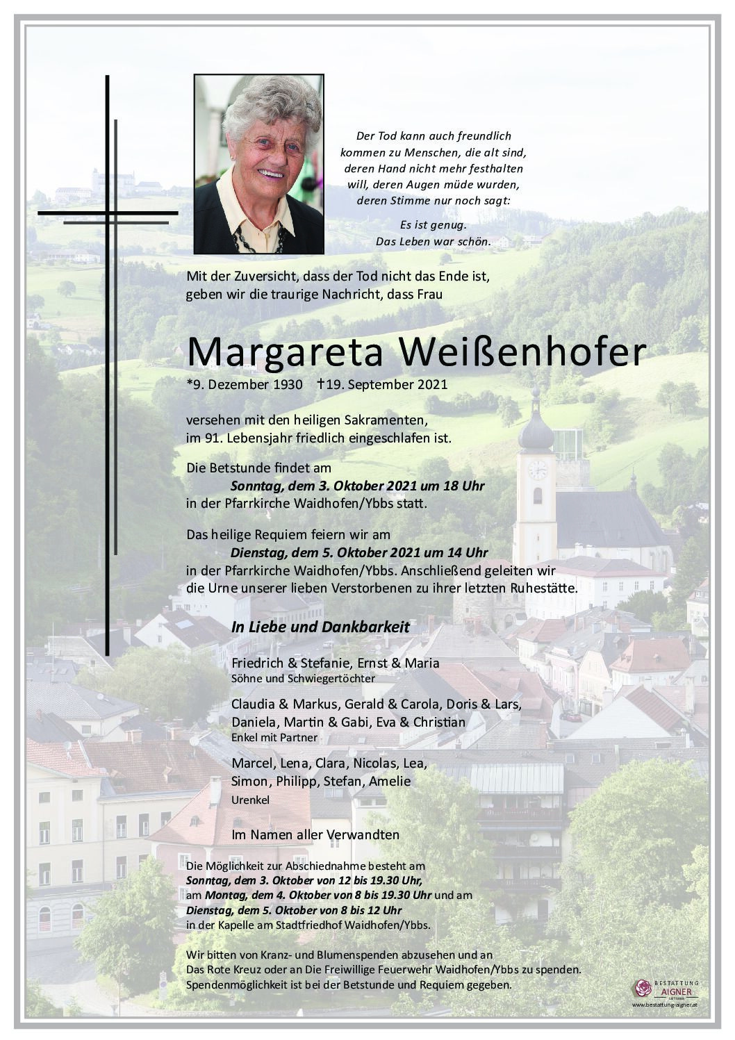 Margareta Weißenhofer