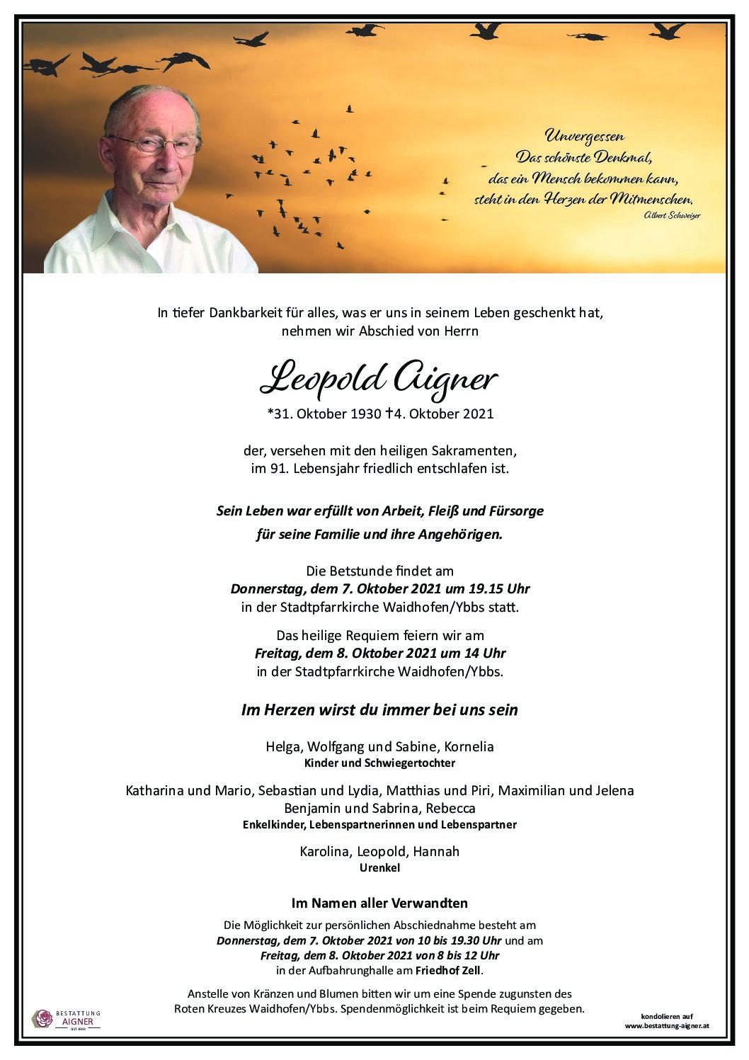 Leopold Aigner