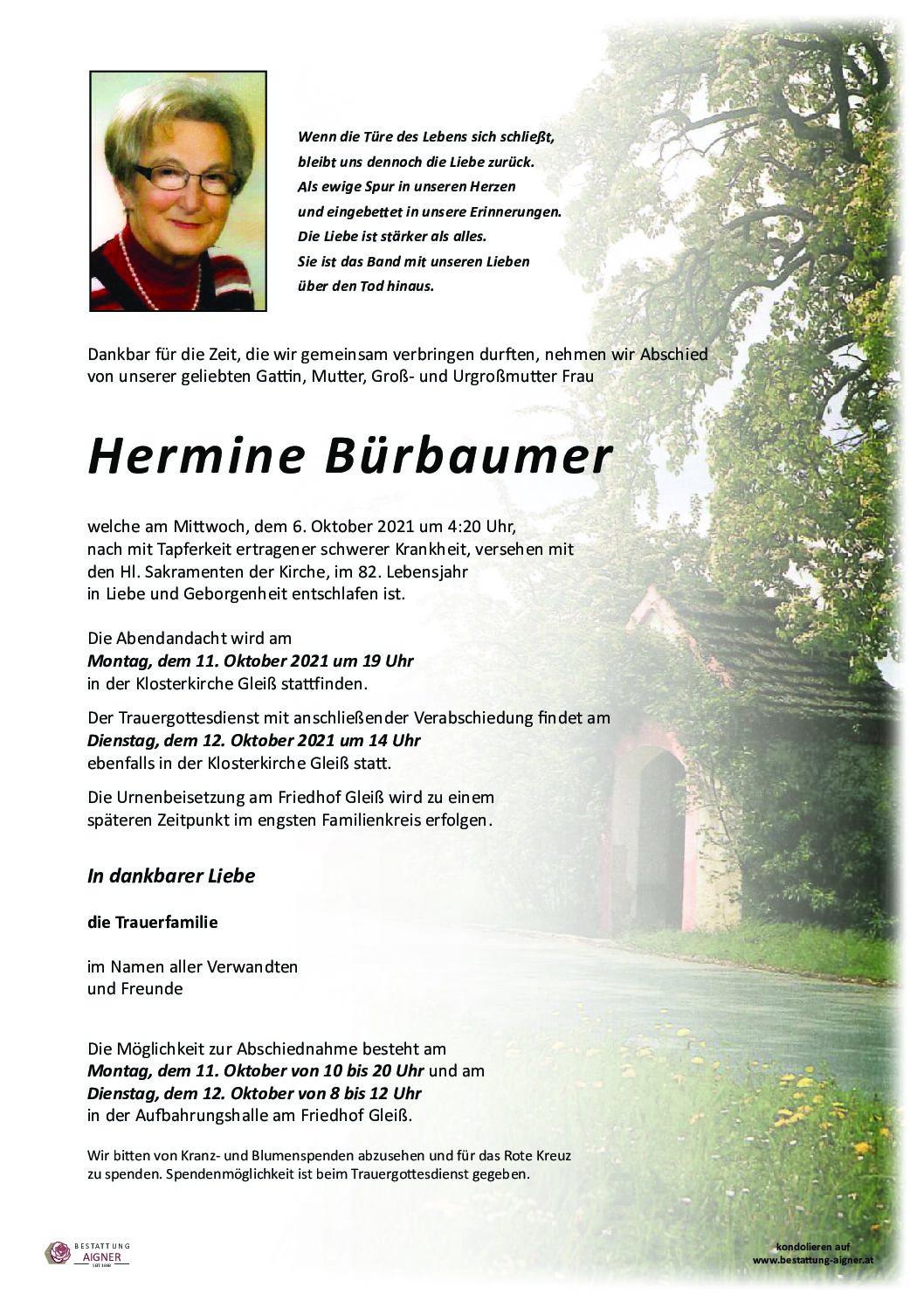 Hermine Bürbaumer
